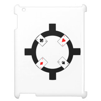 Poker Chip - White Cover For The iPad