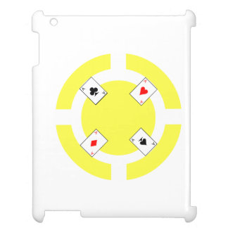 Poker Chip - Yellow iPad Covers