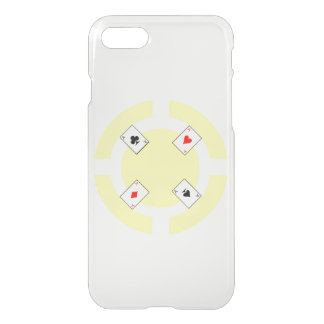 Poker Chip - Yellow iPhone 7 Case