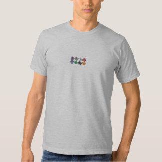 Poker Chips T-shirts