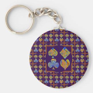 POKER Club n CardGame Fans Gifts Key Chain