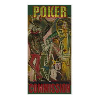 POKER COMMISSION POSTER