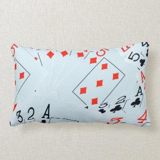 Poker, Diamonds And Clubs, Lumbar Cushion