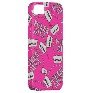 Poker Diva Poker Chips Barely There iPhone 5 Case