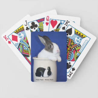 """Poker Face~Bunny Style"" Playing Cards"