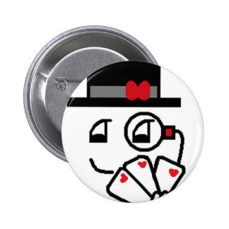 Poker Face Button