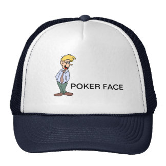 POKER FACE CAP