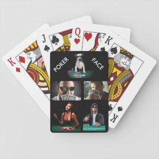 Poker Face Card Decks