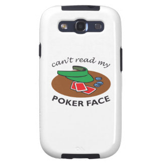 POKER FACE SAMSUNG GALAXY S3 CASES