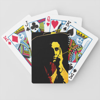 Poker face Cowboy Players Gamblers Playing Cards