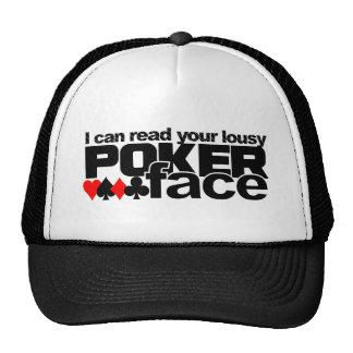 Poker Face hat