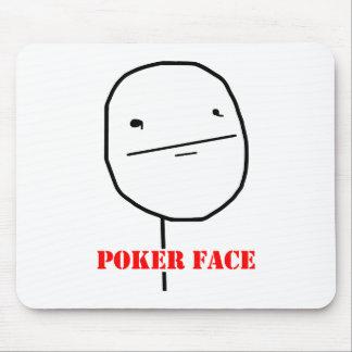 Poker face - meme mouse pad
