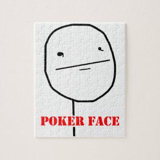 Poker face - meme puzzle