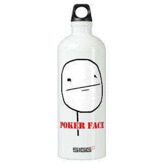 Poker face - meme SIGG traveller 1.0L water bottle