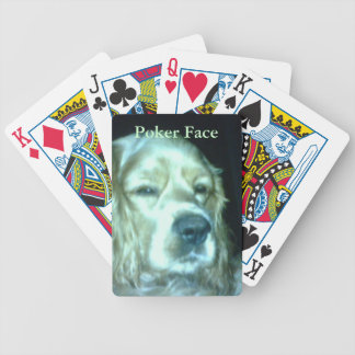 """""""Poker Face"""" Playing Cards"""