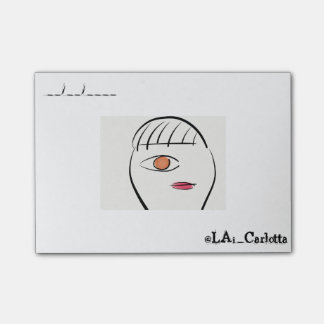 Poker Face Post-It Notes
