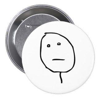 Poker Face Rage Face Meme Pin