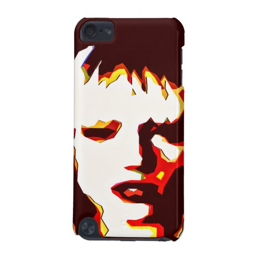 Poker Face - Semi Abstract Portrait iPod Touch (5th Generation) Cover