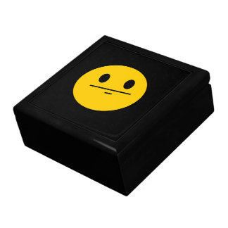 Poker Face Smiley face Gift Box