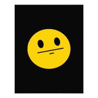 Poker Face Smiley face Invitation
