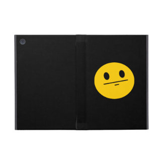 Poker Face Smiley face Cover For iPad Mini