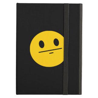 Poker Face Smiley face iPad Case