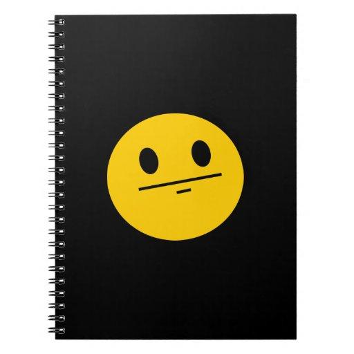 Poker Face Smiley face Journal