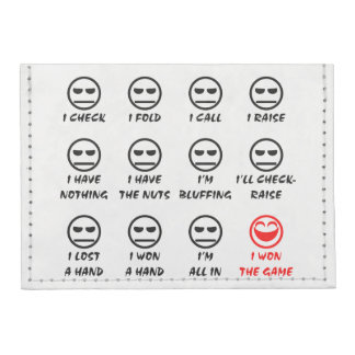 Poker Faces Tyvek® Card Wallet
