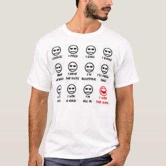 """""""Poker Faces"""" Full Front Light T-Shirt"""