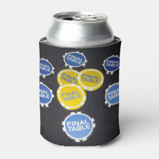 Poker Finals Chips, Can Cooler