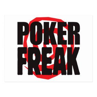 Poker Freak Postcards