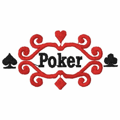Poker Gambling Embroidered Shirt