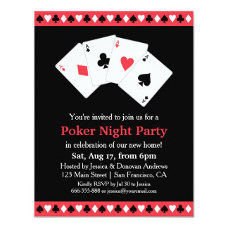 chip midnight templates - game night invitations announcements