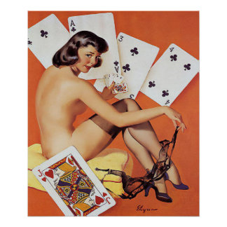 poker,gaming,pin up girls, pin up,pinups posters