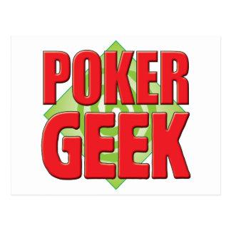 Poker Geek v2 Post Card