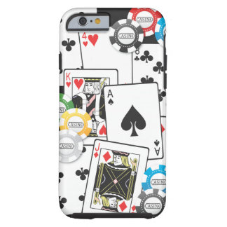 Poker Hand iPhone 6 case Tough iPhone 6 Case