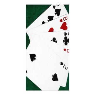 Poker Hands - High Card - Ten Picture Card