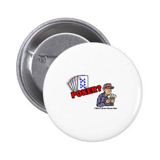 poker her pinback button