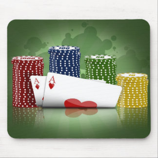Poker Hold'em Mousepad