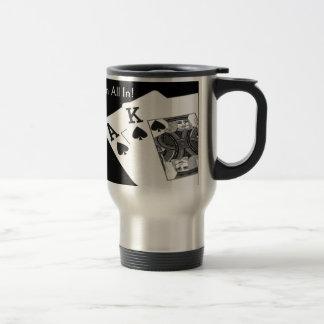 Poker - I'm All In! Travel Mug