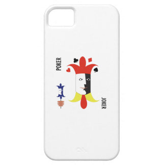Poker Joker iPhone 5 Cover
