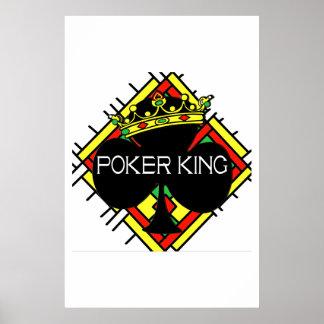 Poker King Print