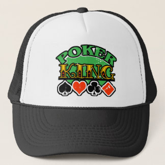 Poker King Trucker Hat
