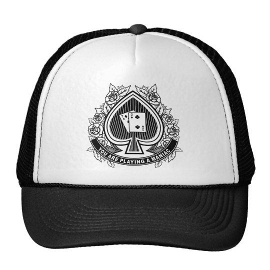 Poker Maniac Cap