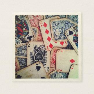 """""""Poker"""" Paper Napkins"""