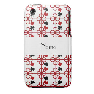 Poker personalized name iPhone 3 Case-Mate case