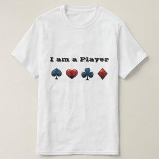 Poker Player Card Shark T-Shirt