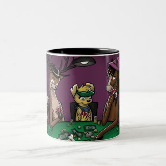 Poker Playing Animals Mug (Wrap-Around)
