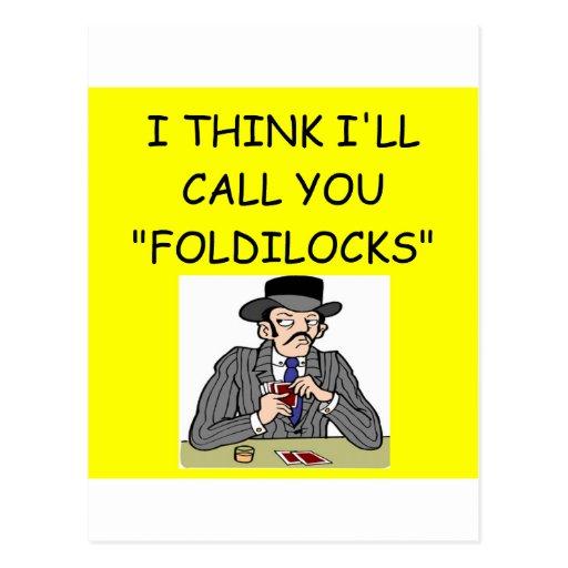 POKER POST CARDS