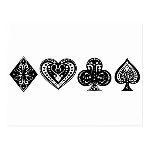 Poker Post Card